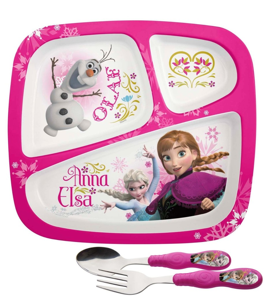 sc 1 st  Mom Tested Kid Approved & Frozen Dinnerware Set